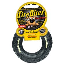 <strong>Mammoth Pet Products</strong> Tire Biter Paw Track Dog Toy in Black