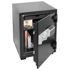1 Hr Fireproof Electronic Lock Security Safe (2.13 Cubic Feet)