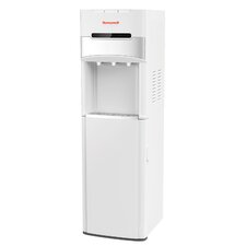 "41"" Freestanding Bottom Loading Water Cooler Dispenser with Hot/Room/Cold Temperatures"