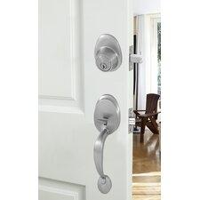 Wave 2 Piece Lever Handleset Door Lock Set