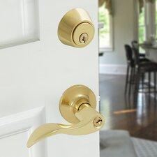 Wave 4 Piece Lever Door Lock Set