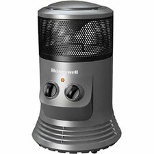 <strong>Honeywell</strong> Honeywell Mini Tower Space Heater with Adjustable Thermostat