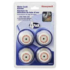 Water Leak Alarms (Pack of 4)