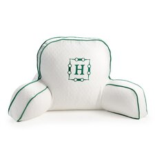 Horsebit Monogram Motif Back Pillow