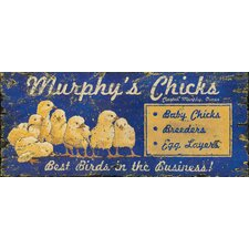 Chicks Vintage Sign