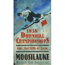 <strong>Vintage Signs</strong> Downhill Championship Vintage Sign