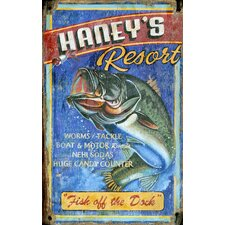 Haney's Resort Wall Art