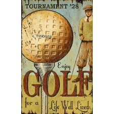 Enjoy Golf Wall Art