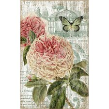 Jardin Pink by Suzanne Nicoll Graphic Art Plaque
