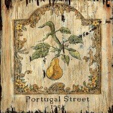 Pear Graphic Art Plaque