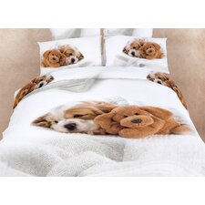 Doggies Duvet Cover Set