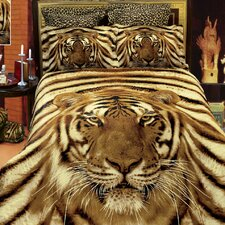 Siberian Tiger 6 Piece Duvet Cover Set