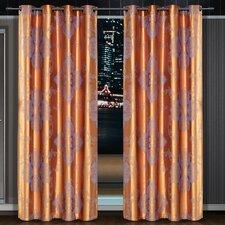 Dolce Mela Freya Cotton Grommet Drape Curtain Single Panel