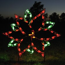 Small Poinsettia Light