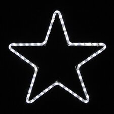 Small Five Point Star Led Rope Light