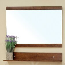"Stoddard 33.5"" H x 43.3"" W Bathroom Mirror"