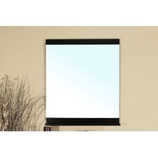 "Chapman 31.6"" H x 27.6"" W Bathroom Mirror"