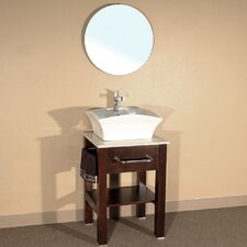 "<strong>Bellaterra Home</strong> Browning 24.2"" Single Vanity Set"