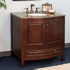 "<strong>Bellaterra Home</strong> Morgan 36"" Single Vanity Set"