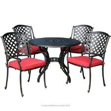 <strong>Kontiki</strong> Bordeaux 5 Piece Dining Set