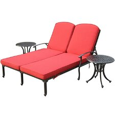 Bordeaux 3 Piece Chaise Lounge Set