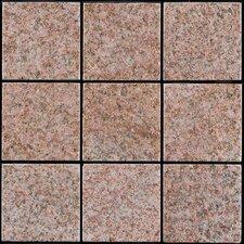 """Granite 11.75"""" x 11.75"""" Interlocking Deck Tiles in Sand Beige"""