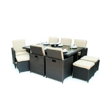 13 Piece Cube Dining Set