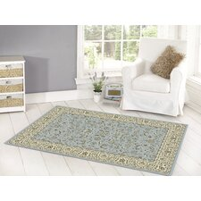 Million Point Blue / Ivory Rug