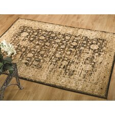 Sincerity Vintage Black Tufted Rug