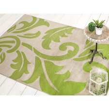 Sincerity Modern Beige / Green Rug