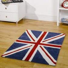 <strong>Home Essence</strong> Kiddy Play Mini Jack Red / White / Blue Children's Rug