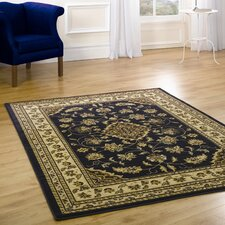 Sincerity Sherborne Navy Contemporary Rug/Runner