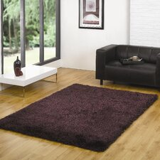 Santa Cruz Summertime Purple / Black Contemporary Rug