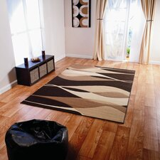 Patina 4491 Brown Contemporary Rug