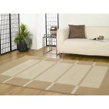 Visiona Soft Beige / Cream Contemporary Rug