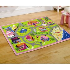 Matrix Kiddy Girls World Multi Children's Rug