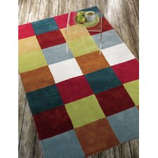 Liberty Multi Glade Check Rug