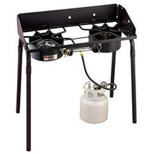 Outdoorsman 1 Low Burner and 1 High Burner Outdoor Stove