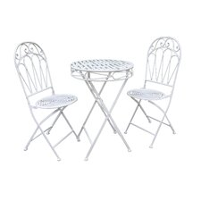 Romance 3 Piece Round Dining Set