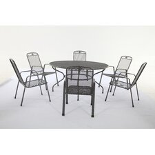 Savoy 7 Piece Round Dining Set