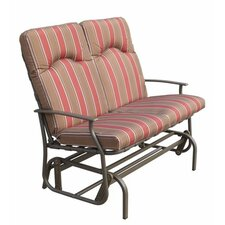 Amalfi 2 Seater Glider Bench with Cushion