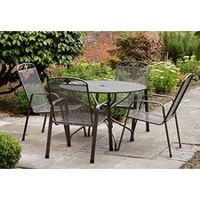 Savoy 5 Piece Round Dining Set