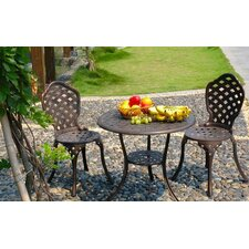 <strong>Royal Craft</strong> Eclipse Bistro Dining Set