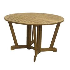 Henley Gateleg Round Hardwood Dining Table