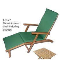 Napoli Steamer Lounger with Cushion