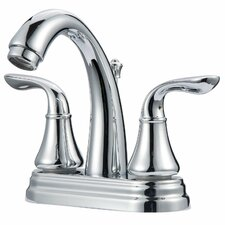 Arc Double Handle Centerset Bathroom Faucet
