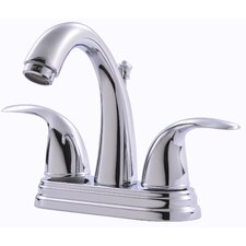 <strong>Ultra Faucets</strong> Centerset Bathroom Faucet with Double Handles