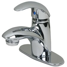 <strong>Ultra Faucets</strong> Single Hole Bathroom Faucet with Single Handle