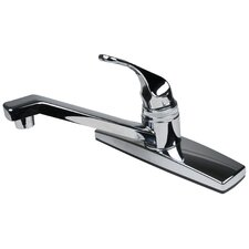 <strong>Ultra Faucets</strong> Single Handle Centerset Kitchen Faucet