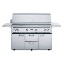 "54"" Gas Grill with ProSear2-Rotisserie Design"